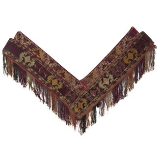 Asian Segusha V-Shaped Textile