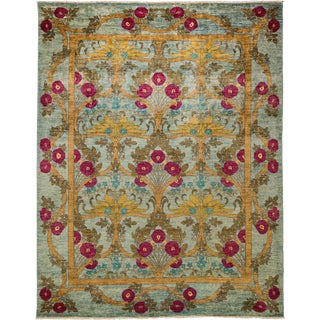 "Arts & Crafts, Hand Knotted Area Rug - 8' 10"" x 12' 0"""