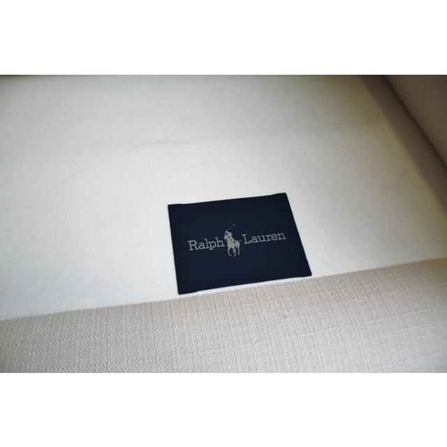 Ralph Lauren White Club Chairs - A Pair - Image 5 of 5
