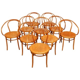 Thonet Bentwood 209 Chairs - Set of 10