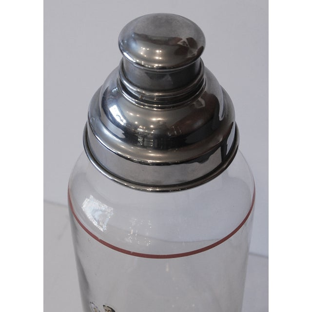 Vintage 1940s Hollywood Cocktail Shaker - Image 3 of 5