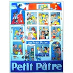 Image of 1950s French Art Deco Poster - Petit Patre