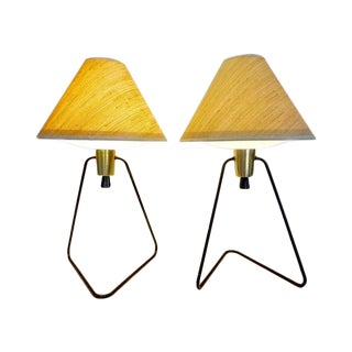 Gerald Thurston Vintage 'Anywhere' Lamps - A Pair