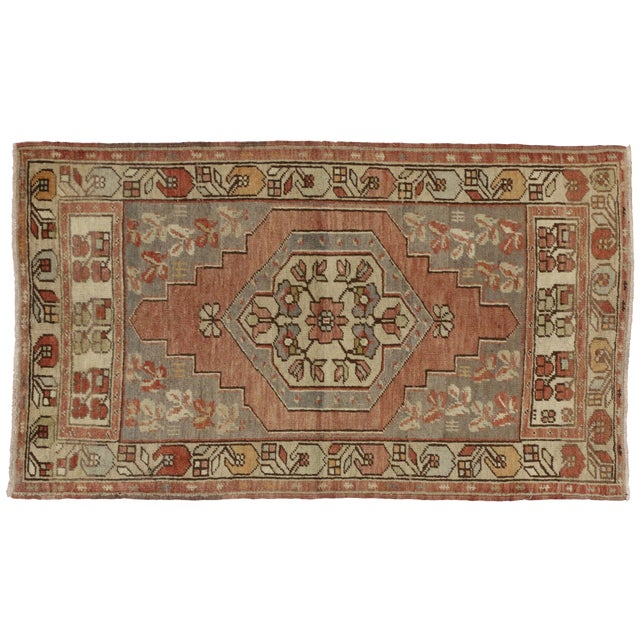 Vintage Turkish Oushak Rug with Traditional Style - 3' x 5'2 - Image 5 of 5
