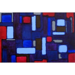 """Cityscene 2"" Original Acrylic Painting"