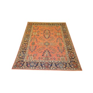 "Antique Persian Sultanabad Rug - 7'5"" X 10'2"""