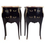Image of French Early 20th Century Commodes - A Pair
