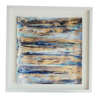 """Framed Goldleaf on Paper - 16"""" x 16"""""""