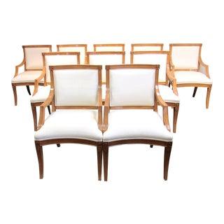 J. Robert Scott Tuscan Italian Arm Chairs
