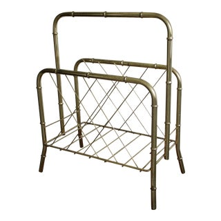 Hollywood Regency Magazine Rack
