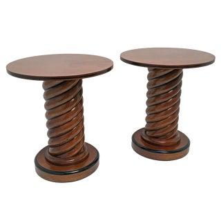 Biedermeier-Style Side Tables - A Pair