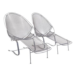 Pair of High Back for John Salterini Patio Chaise Lounges