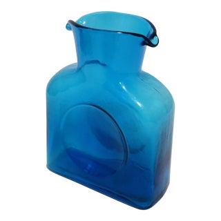 Blenko Glass Water Pitcher
