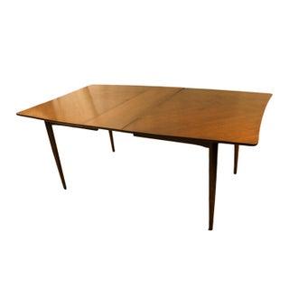 Mid-Century Modern American of Martinsville Walnut Dining Table