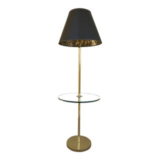 Modern Deco Brass Table & Floor Lamp