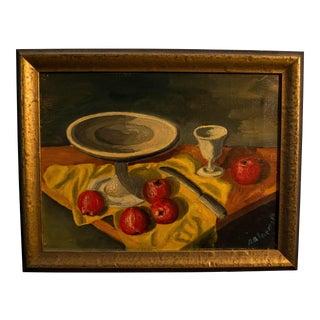 Amkmpava Original Acrylic Still Life Fruit Painting