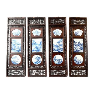 S/4 Landscape Porcelain Wood Panels