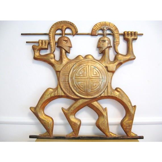Frederick Weinberg Wall Sculpture - Image 2 of 6