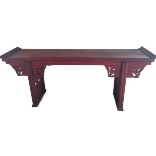 19th-Century Red Altar Table