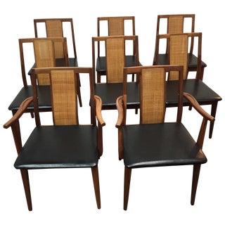 Mid-Century Hibriten Chairs- Set of 8