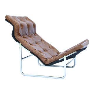 1970s Dux Sam Larsson Attributed Lounge Chair