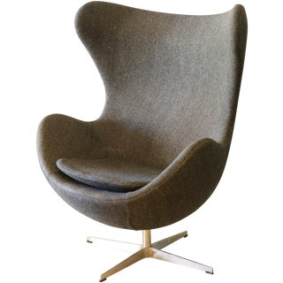 Reproduction Faux Egg Chair
