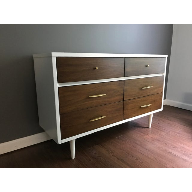 Two-Tone Mid-Century Dresser - Image 7 of 7