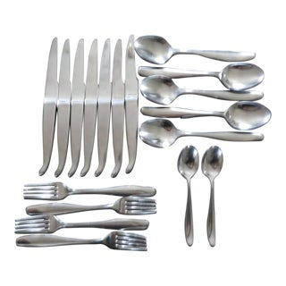 Achille Castiglioni for Alessi Stainless Steel Flatware- 18 Pieces