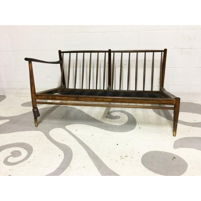 Mid-Century Modern Walnut Corner Sofa Frame - Image 2 of 6