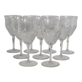 Val St. Lambert Normandy Wine Goblets - Set of 8