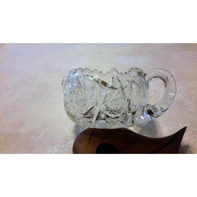 American Brilliant Period Cut Glass Sugar Dish - Image 4 of 7