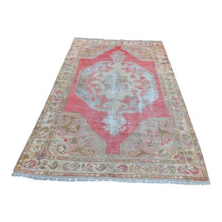 "Turkish Antique Bohemian Rug - 47"" x 84"""