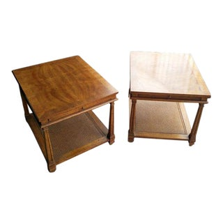 Drexel Heritage End Tables, 1970 -- A Pair
