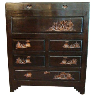 Early 20th-C. English Chinese-Style Chest
