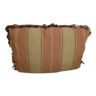 Contemporary Decorative Stripe Pillow