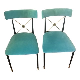 Jonathan Adler Rider Dining Chairs - A Pair