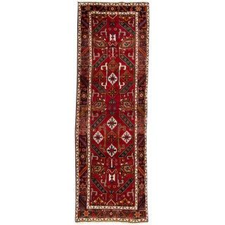"Apadana - Vintage Persian Heriz Rug, 3'10"" x 11'7"""