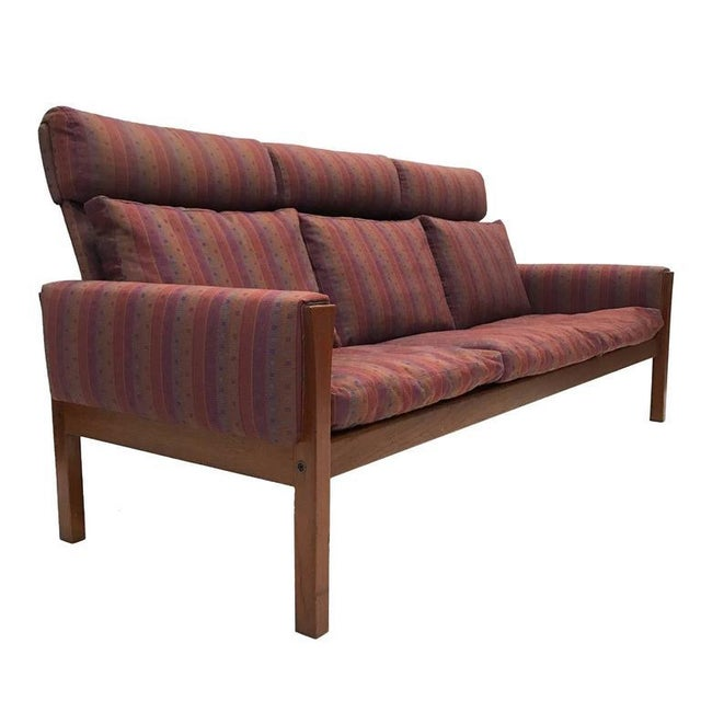 Hans Wegner for A.P. Stolen High Back Teak Frame Sofa - Image 4 of 6