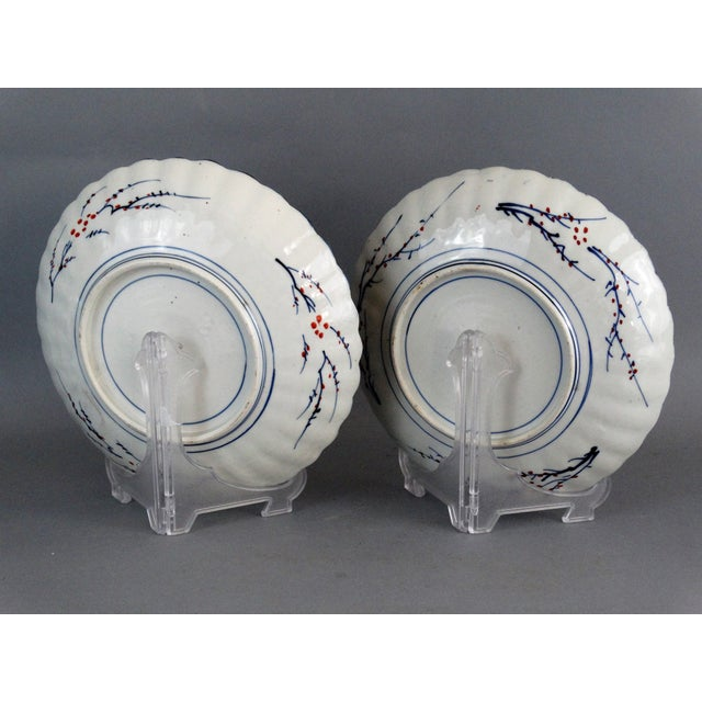 Japanese Porcelain Imari Chargers - A Pair - Image 8 of 9