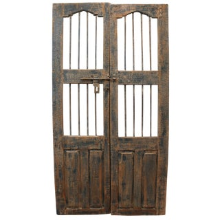 Reclaimed Architectural Wrought Iron Doors - A Pair