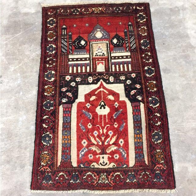 Baluchi Handmade Persian Rug - 2′6″ × 4′2″ - Image 2 of 11