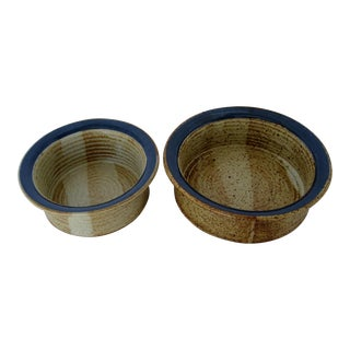 Holman Pottery Bowls - Set of 2