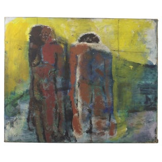 Original Expressionist Painting by Alberto Weller