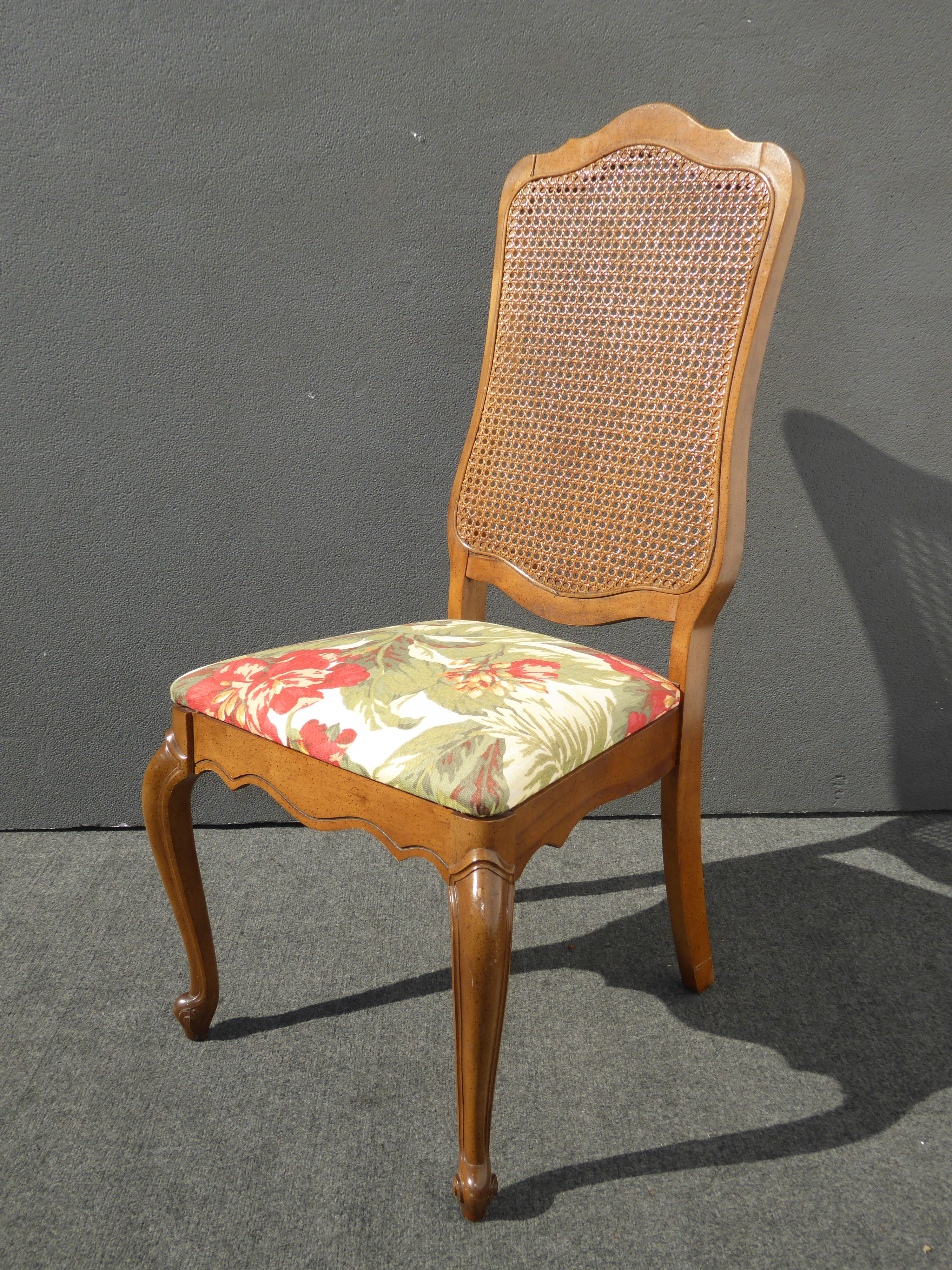 French provincial dining room chairs