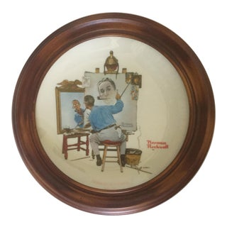 Norman Rockwell Commemorative Gorham Plate