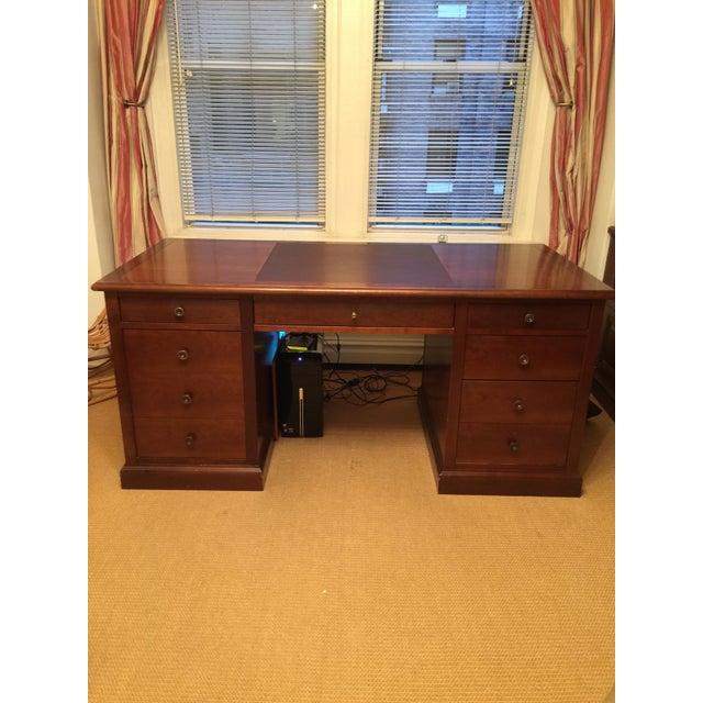 Grange Cherry Wood Executive Desk - Image 2 of 4