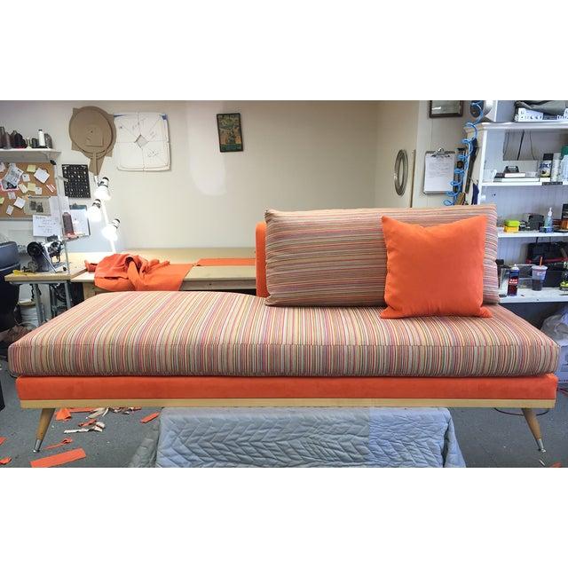 Custom Mid-Century Modern Sofa Lounge - Image 3 of 10
