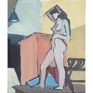 1940s-50s Bay Area Figurative Female Nude
