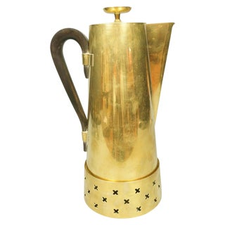 Tommi Parzinger Brass Coffee Pot