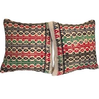 Vintage Kilim Throw Pillows - Pair